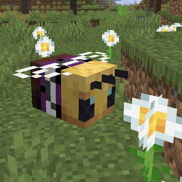 Aegosexual Pride Flag Bees Minecraft Texture Pack