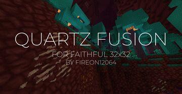 Faithful Nether Quartz Fusion 32x [Vanilla CTM] Minecraft Texture Pack