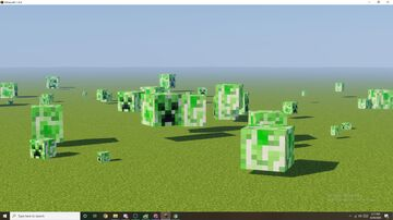 Creeper Head Texture Pack Minecraft Texture Pack