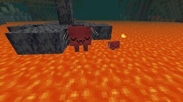 Striders go uwu Minecraft Texture Pack