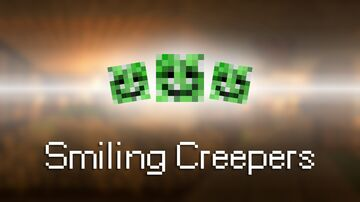 Smiling Creepers Pack Minecraft Texture Pack
