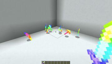 Rainbow enchantment (Slow version) Minecraft Texture Pack