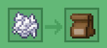 Bone meal into Fertilizer Minecraft Texture Pack