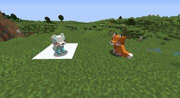 Alternate Mob Designs + Femboy Foxes Minecraft Texture Pack