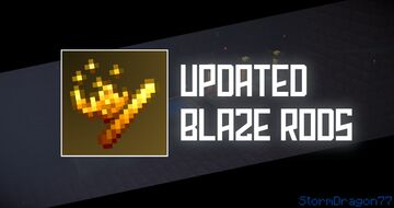 Updated Blaze Rods Minecraft Texture Pack