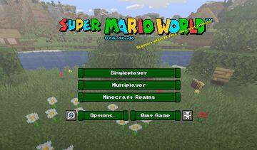 Super Mario World 1.15.2 Minecraft Texture Pack