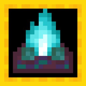 Soul Campfire Minecraft Texture Pack