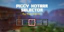 Piggy Hotbar Selector (1.15, 1.16)