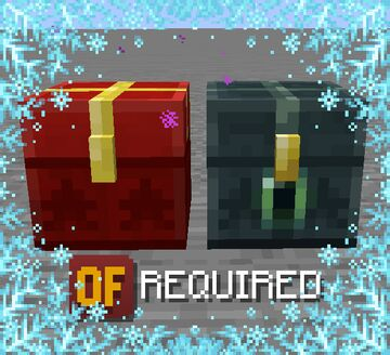 Christmas Ender Chest Minecraft Texture Pack