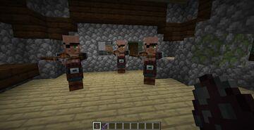 Villager Illagers Minecraft Texture Pack