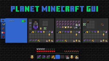 Planet Minecraft GUI [Day/Night] Minecraft Texture Pack