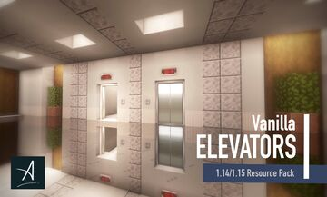 Vanilla Elevators Resource Pack 1.14 - 1.15 Minecraft Texture Pack