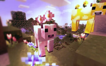 Flower Cows (moobloom and moolip) Minecraft Texture Pack