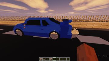 Nissan Skyline GT-R R34 Model for MC Minecraft Texture Pack