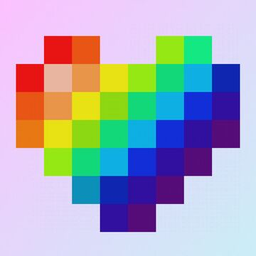 Pride Hearts Minecraft Texture Pack