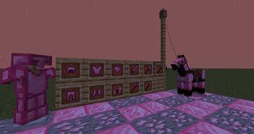 Pink Diamond Items Minecraft Texture Pack