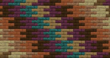 Connected planks Minecraft Texture Pack
