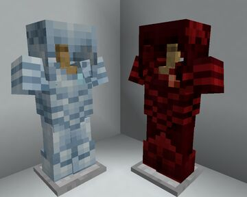 Troll Hunter Armour and Swords (Diamond and Netherite replacements) Minecraft Texture Pack