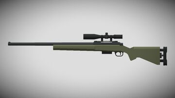 3D GUNS | M24A2! (1.12+) Minecraft Texture Pack
