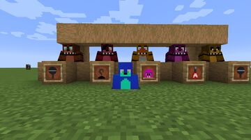 fnaf armour Minecraft Texture Pack