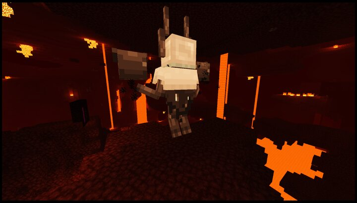 Wither's back and cape