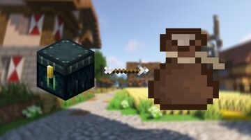 Ender chest to bag (cloth) Minecraft Texture Pack