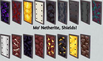 Mo' Netherite | Update! | Java Edition Minecraft Texture Pack