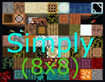 Simply (8x8) - 1.17.1 Update! Minecraft Texture Pack