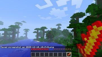 Fire Sword Minecraft Texture Pack