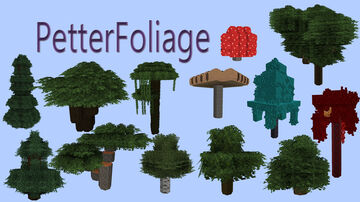 Petter Foliage Minecraft Texture Pack