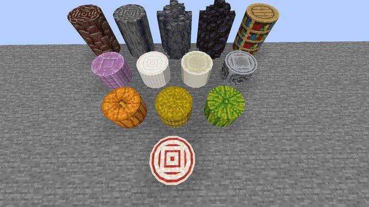 Round blocks
