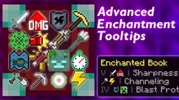 Advanced Enchantment Tooltips v1.4 - Understand your enchantments! [MC 1.15 - 1.16] Minecraft Texture Pack