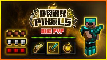 Dark Pixels | PVP Pack [8x] Minecraft Texture Pack