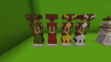 Pack de armadura (armor pack) Minecraft Texture Pack