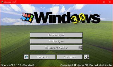 Windows 95 Resource Pack Minecraft Texture Pack
