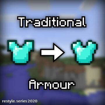 Traditional Armour Minecraft Texture Pack