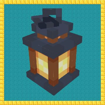 Lantern and Chain Minecraft Texture Pack