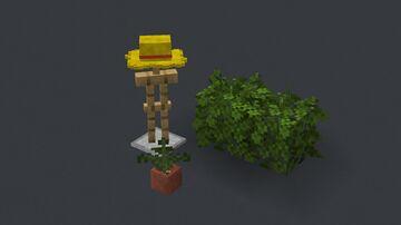 straw hat tweak Minecraft Texture Pack