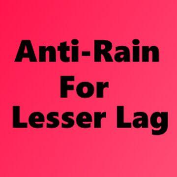 Anti-Rain Minecraft Texture Pack
