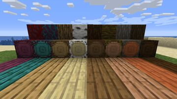 Rounder Logs Minecraft Texture Pack