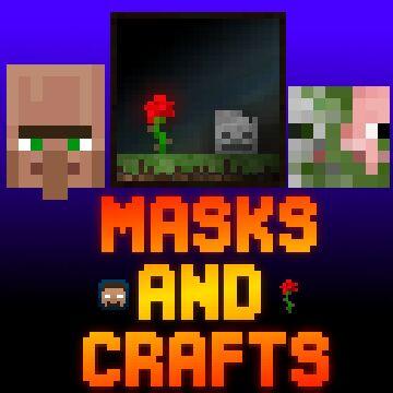 Masks & Crafts OPTIFINE Minecraft Texture Pack