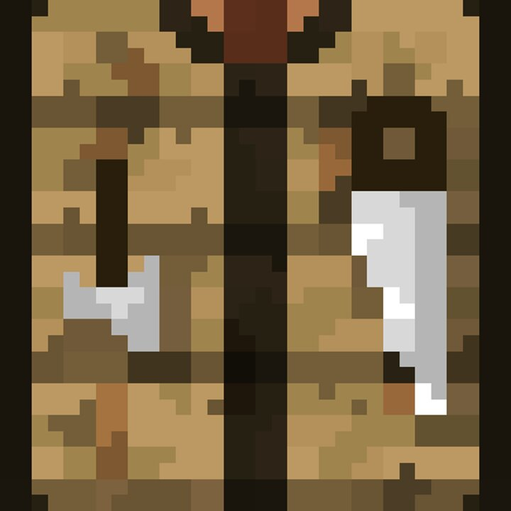 Crafting Table Front Texture