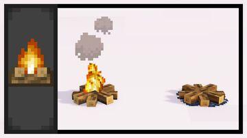 Better Campfires [1.15] Minecraft Texture Pack