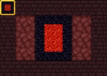 Vanilla+ Red Nether Portal Minecraft Texture Pack