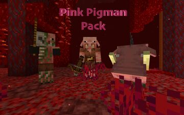 Pink (Classic) Pigman Pack (1.16+) Minecraft Texture Pack