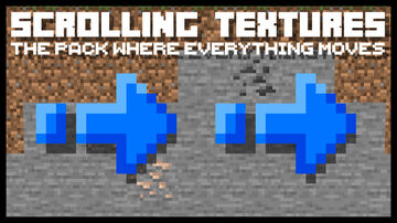 Scrolling Textures Minecraft Texture Pack