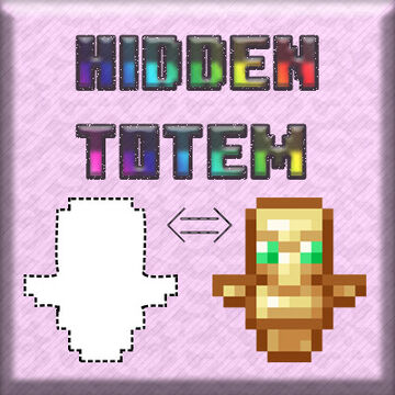 Reni's Hidden Totem (Invisible Totem of Undying) for 1.16+ Minecraft Texture Pack
