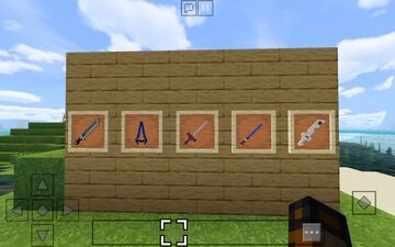 FamousSwords (bedrock) Minecraft Texture Pack