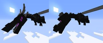 Custom Enderdragon model [1.16.X] [Optifine] Minecraft Texture Pack
