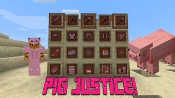 Pig JusticeV3! Minecraft Texture Pack